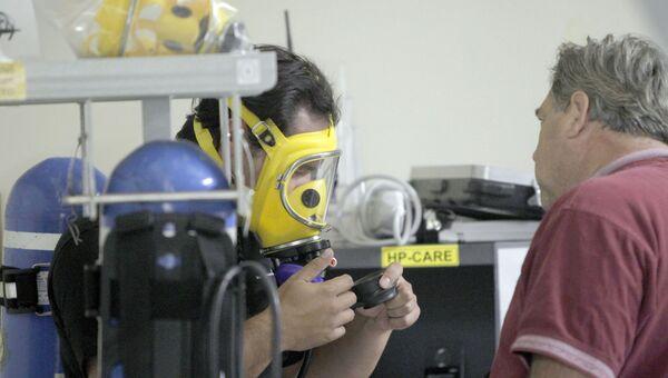 Рабочие на АЭС Сан-Онофре