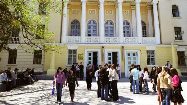 Дагестанский государственный университет. Архивное фото