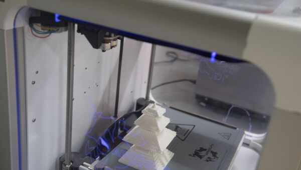 Домик, напечатанный на 3D принтере