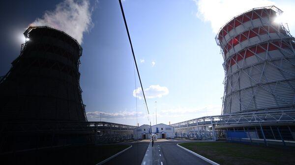 Вид на здания Казанской ТЭЦ-1