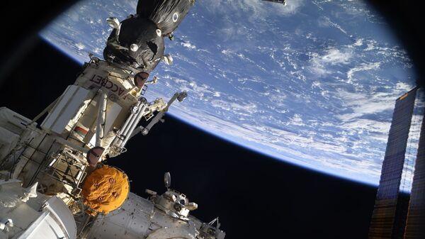 Вид на Землю с борта Международной космической станции, архивное фото