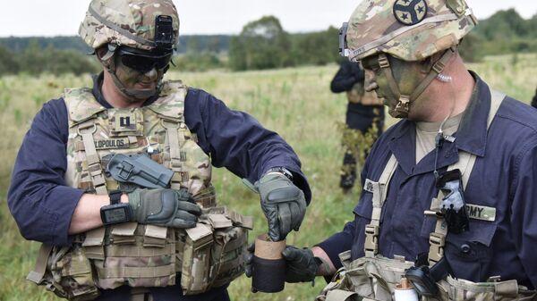 Участники активной фазы международных военных учений Репид Трайдент - 2018