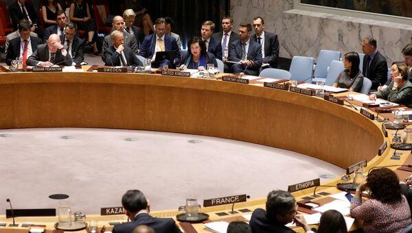 Заседание Совбеза ООН по делу Скрипалей. 6 сентября 2018
