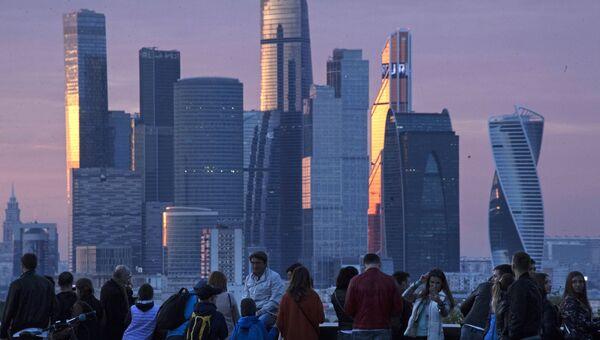 Вид на Международный деловой центр Москва-Сити. Архивное фото