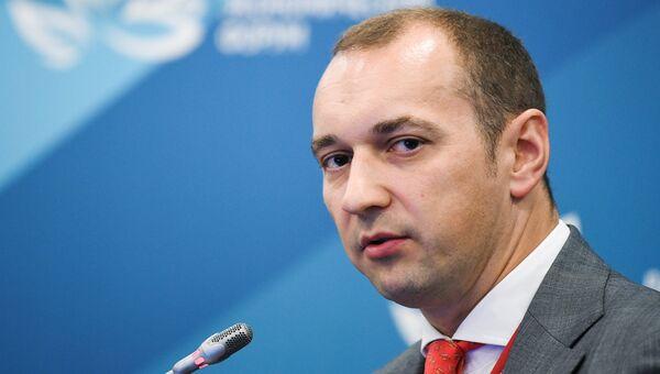Генеральный директор ООО ВЭБ Инновации Олег Теплов на Восточном экономическом форуме