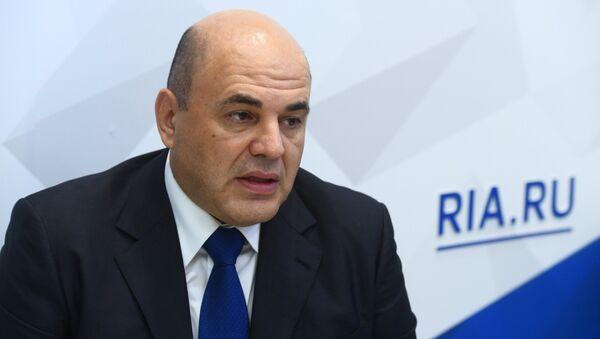 Руководитель Федеральной налоговой службы РФ Михаил Мишустин