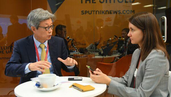 Главный исполнительный директор офиса Deloitte в Корее Чун Хи Ли