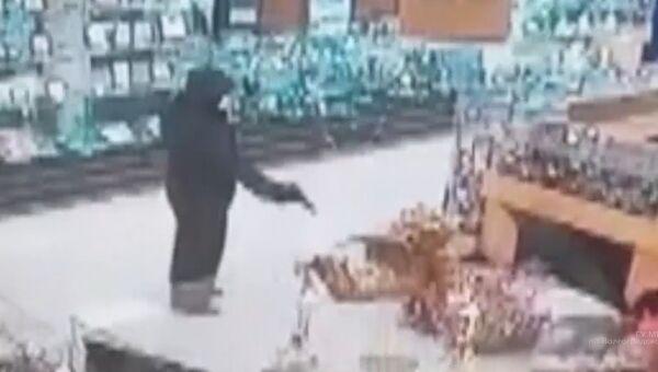 Нападение на ювелирный магазин в Камышине