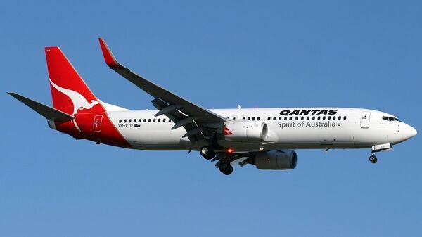 Самолет Boeing 737-800 авиакомпании Qantas
