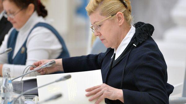 Член Совета Федерации Елена Мизулина. Архивное фото