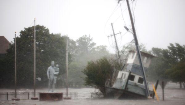 Последствия урагана Флоренс в штате Северная Каролина. 14 сентября 2018