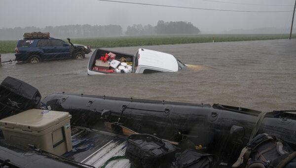 Последствия урагана в США. Архивное фото
