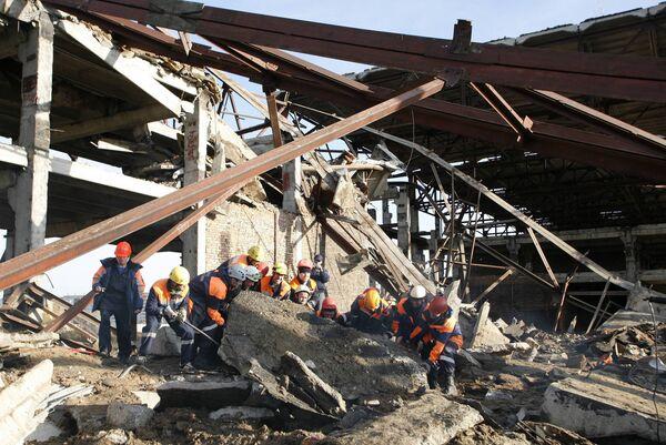 Завершен основной разбор завалов взорванного дома в Архангельске