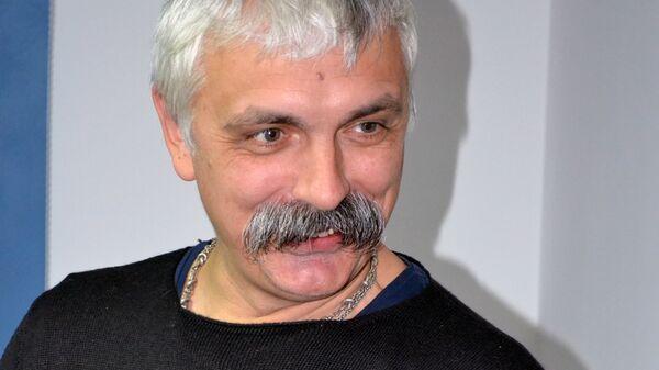 Украинский политический и общественный деятель, журналист и телеведущий Дмитрий Корчинский