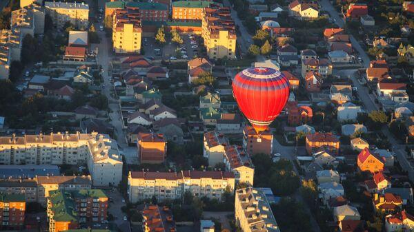 Воздушный шар на фестивале воздухоплавания Кавказские Минеральные Воды - Жемчужина России в Ставрополье