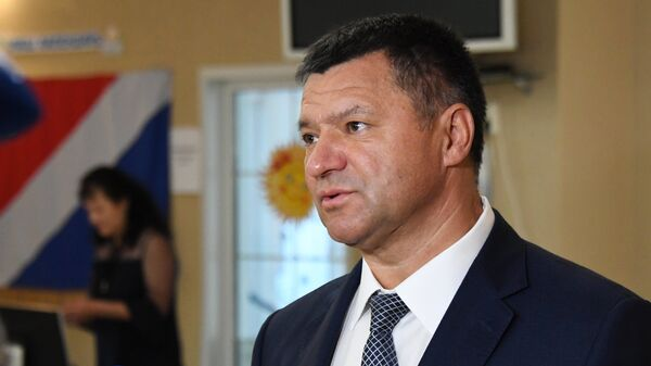 Кандидат на пост губернатора Приморского края Андрей Тарасенко. Архивное фото