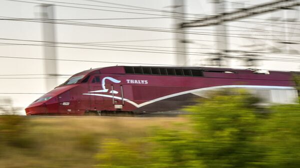 Поезд-экспресс Thalys во Франции