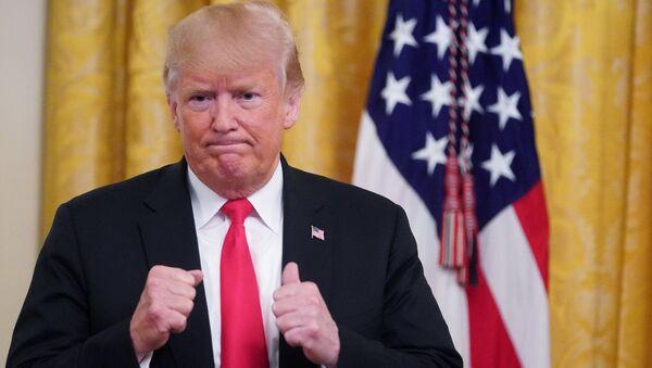 Президент США Дональд Трамп в Белом доме в Вашингтоне