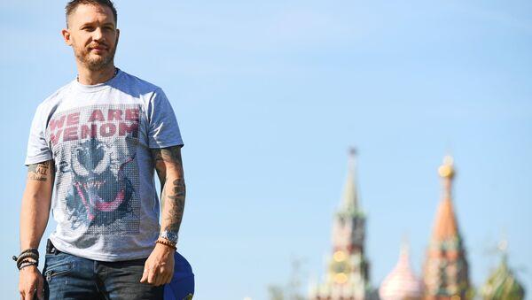 Том Харди в Москве
