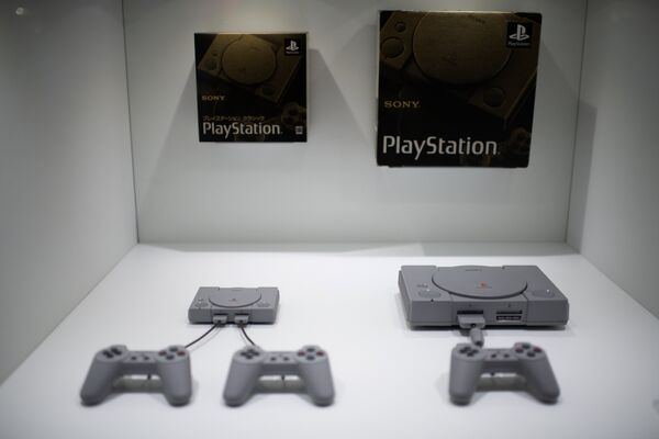 Приставки Sony Playstation на Tokyo Game Show в Японии