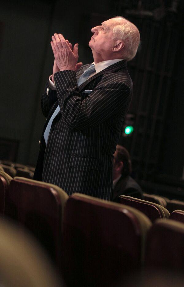 Марк Захаров в театре «Ленком»