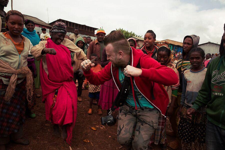 Эфиопия. Арбамынч. Сельский рынок