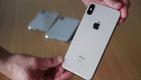 Смартфон iPhone XS Max. Архивное фото