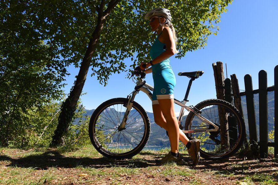 Италия. Прогулка на велосипеде вокруг озера Гарда