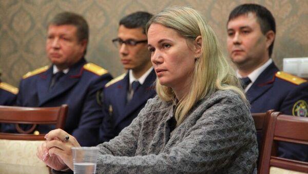 Мать погибшего в Пензенской области ребенка во время встречи с главой СК России Александром Бастрыкиным
