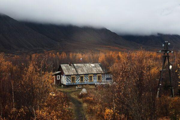 Дом станционного смотрителя Северной железной дороги Воркута - Лабытнанги