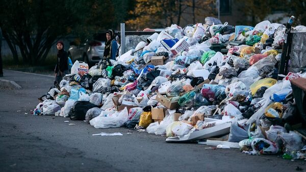 Свалка мусора в Челябинске
