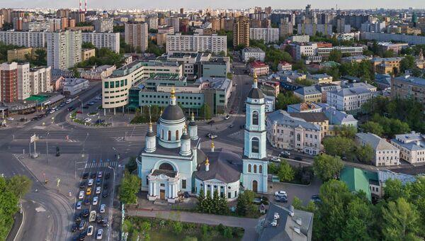 Храм Сергия Радонежского на Рогожской Слободе в Москве. Архивное фото