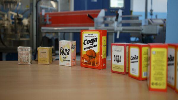 Новая упаковка пищевой соды БСК. Архивное фото