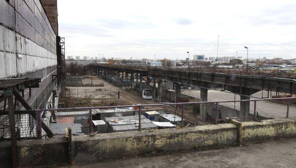 Реконструкция промзоны на территории бывшего ОАО Москвич