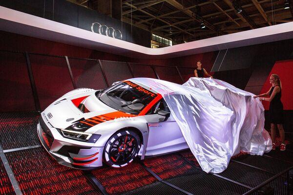 Презентация новой модели Audi Sport