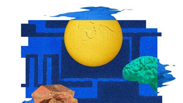 Так художник представил себе кубитный магнитометр и его возможные применения