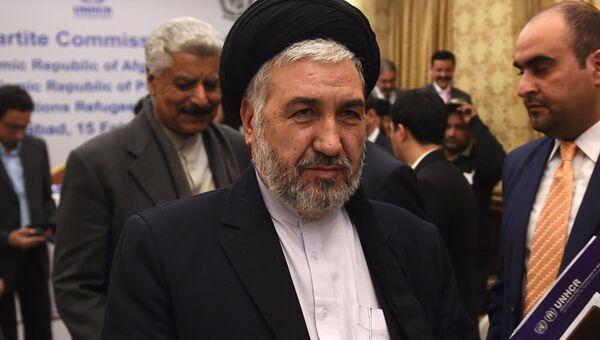 Министр по делам беженцев и репатриантов Афганистана Хусейн Алеми Балхи