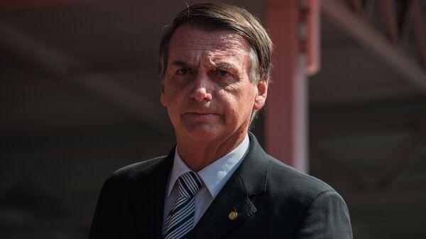 Кандидат в президенты Бразилии Жаир Болсонару. Архивное фото