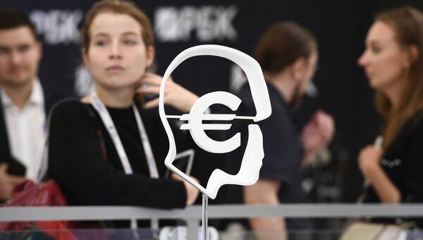 Символ евро. Архивное фото