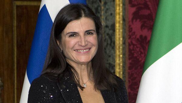 Посол Греции в Риме Тасия Афанасиу