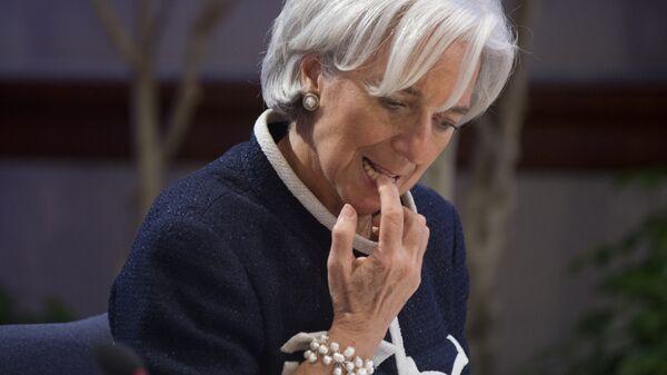 Директор-распорядитель Международного валютного фонда Кристин Лагард. Архивное фото
