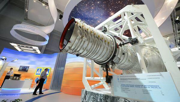 Оптико-электронная аппаратура дистанционного зондирования земли Геотон-Л1 для космического аппарата Ресурс-П. Архивное фото