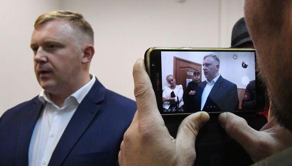 Кандидат от КПРФ на выборах главы Приморья Андрей Ищенко. Архивное фото