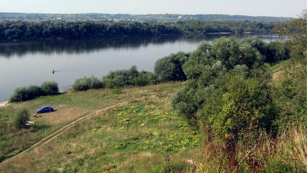 Вид с бывшего городского вала Ростиславля