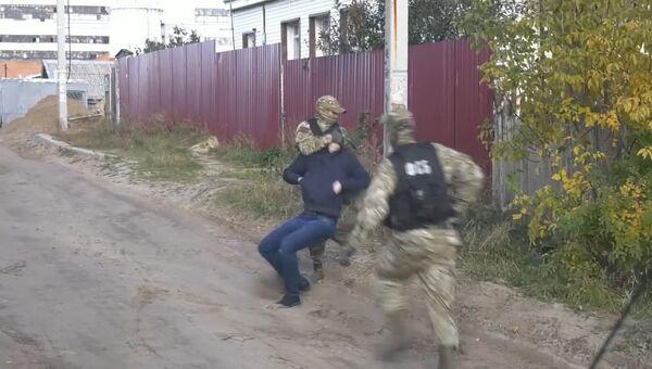 Задержание главаря российского крыла Хизб ут-Тахрир*. Оперативные кадры ФСБ