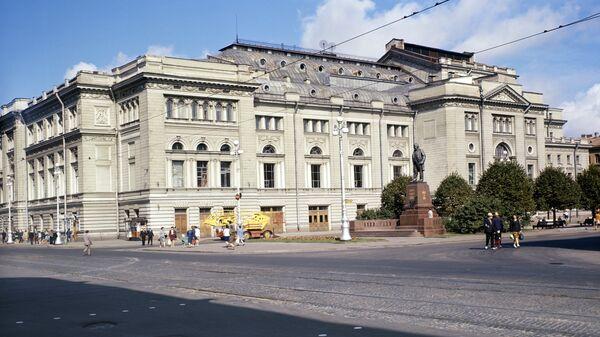 Здание Ленинградской (сейчас Санкт-Петербургской) консерватории имени Н. А. Римского-Корсакова