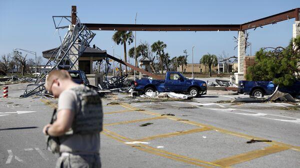 Последствия урагана во Флориде