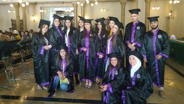 В университете Дамаска получили дипломы первые выпускники кафедры русского языка