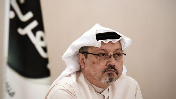 Саудовский оппозиционный журналист Джамаль Хашукджи. Архивное фото