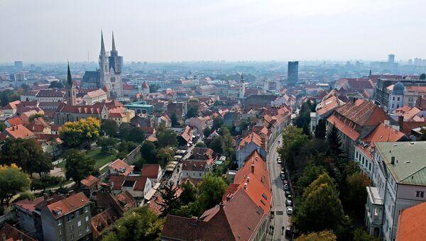 Город Загреб. Архивное фото.